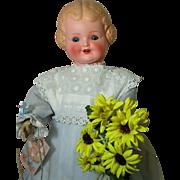 SALE Happy Happy German Bisque Character Doll