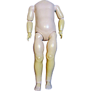 SALE Uncommon Antique German Doll Body-Large