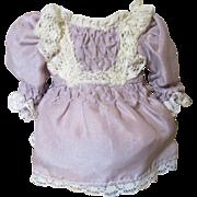 Very Pretty Snall  Silk Doll Dress