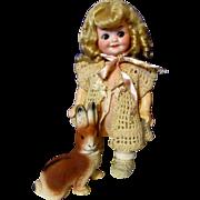 SALE Darlin' Little Googly 353 Doll-All Original!