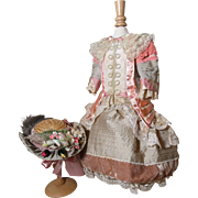 SALE Lavish French Doll Dress & Hat!