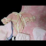 SALE Vintage DyDee Baby Assortment-Bonnet & More