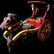 SALE Wonderful Antique Cart & Horse
