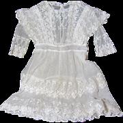 SALE Wonderful Antique Lace Child's Dress
