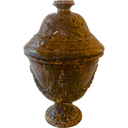 Large Bennington Urn with Cover