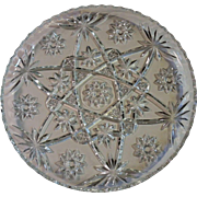 REDUCED EAPG Star of David Serving Tray