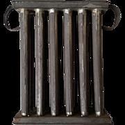 Primitive Tin Candle Mold