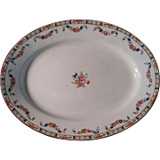 "REDUCED Meakin ""Richmond"" Pattern Serving Plate"
