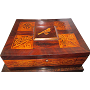 FINE ARTS AND CRAFTS TABLE BOX (TILE DESIGNS)