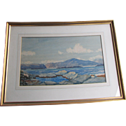 PETER MACGREGOR WILSON 1856-1928 WATERCOLOUR SCOTTISH COAST