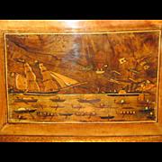 Unusual C1880 Trinity House Sailors Box  (Marine folk art)
