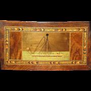 Fine Victorian Trinity House Irish Cork Box