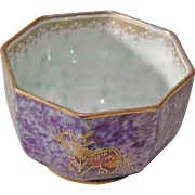 REDUCED Wedgwood Fairyland Lustre Miniature Octagonal Bowl - Designed by Daisy Makeig-Jones ..