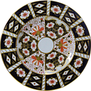 Royal Crown Derby Imari Bone China Plate - Early to Mid 20th Century - Pattern 2451