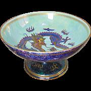 SALE Large Wedgwood Fairyland Lustre Chalice Bowl - Designed By Daisy Makeig-Jones - Circa 192