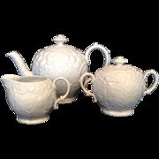 White Wedgwood Tea Set