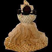 Folk art rag doll