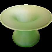 Vintage Green Glass Ware Vase