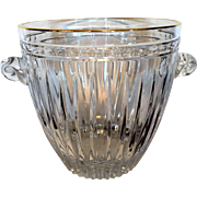 "Waterford Crystal Ice bucket.  ""Marquis by Waterford."""