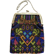 REDUCED 1920s Beaded Evening Bag
