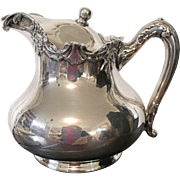 SALE Reed and Barton Silver Plate Creamer with Lid