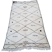 Nursery rug Genuine Beni ourain Berber RugVintage Rug Teppich Tapis 6x10