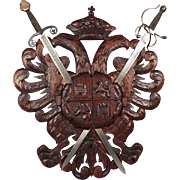 Spanish Shield with Two Swords