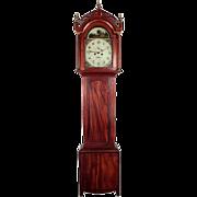 19th Century English Georgian Grandfather Clock