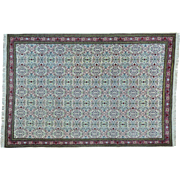 Semi Antique Turkish Sivas Mint Cond Handmade Pure Wool Rug Sh26421