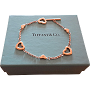 18K Tiffany Toggle Bracelet