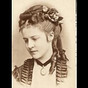 1870s CDV Photo Viennese ROYAL Portrait