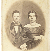 1860s 19th Century EARLY TRICK SPIRIT Photography