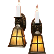 Arts and Crafts Gas and Electric Sconces
