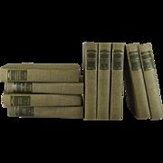 American Author S. W. Mitchell Decorative Book Set, S/9