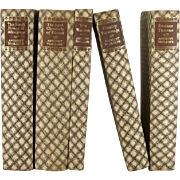 Decorative Book Set of Classic Works of Anthony Trollope, S/5