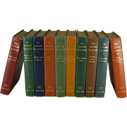 Vintage Set of Junior Classics, the Illustrated Popular Edition