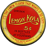 Vintage Lemon Kola Tin Tip Tray