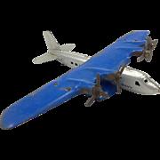 Vintage Marx Airplane c. 1940's