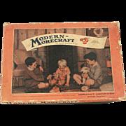 SOLD Vintage Morecraft Erector Set c.1937