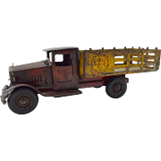 Shell Motor Oil Metalcraft Stake Truck