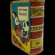 1940's Andy Panda Series Tin Book Bank Vol. 2