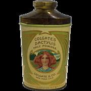 Colgate Dactylis Talc Powder Tin