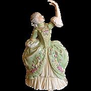 Vintage Franklin Mint Porcelain Figure 1982: Sophia Allemende