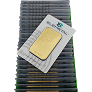 1 Troy Ounce Gold Bar Elemetal