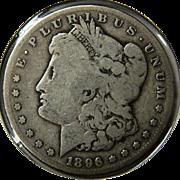 SOLD 1896-S Morgan Silver Dollar