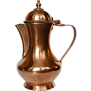 Vintage Copper Coffee Pot / Jug