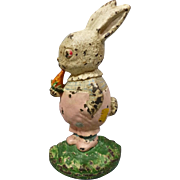 SOLD Cast Iron Peter Rabbit Doorstop