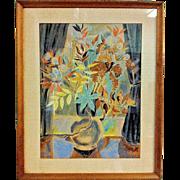 Autumn Flowers by Marguerite Zorach - Mid-Century Modern