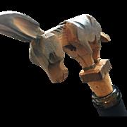 Anri Hatior Mechanical Wooden Wine Cork - Donkey