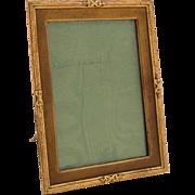 Edwardian Gilded Brass Photo Frame, Circa 1900